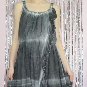 Free People Aphrodite Tie Dye Asymmetrical Dress